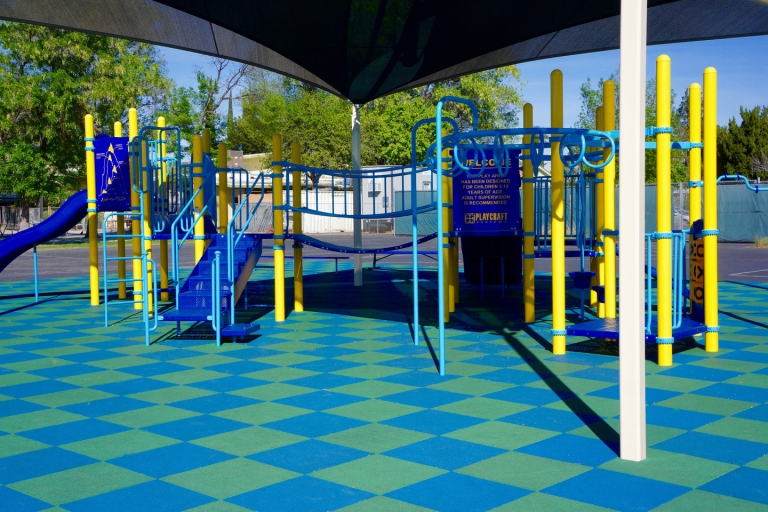 SpectraBound Tile System at Our Community Charter School in Chatsworth, CA.