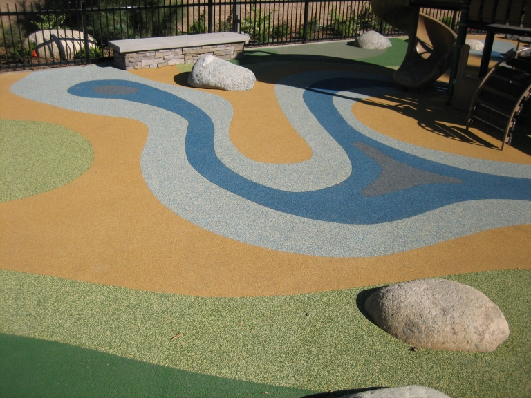 SpectraPour System at Little Bear Park in Bell, CA.