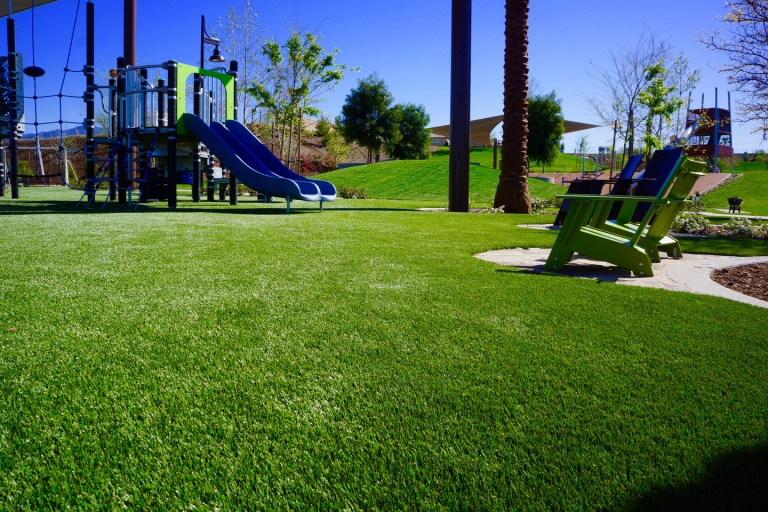 SpectraTurf PlayGrass System at Central Linear Park.