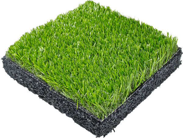 Synthetic turf SpectraTurf product sample