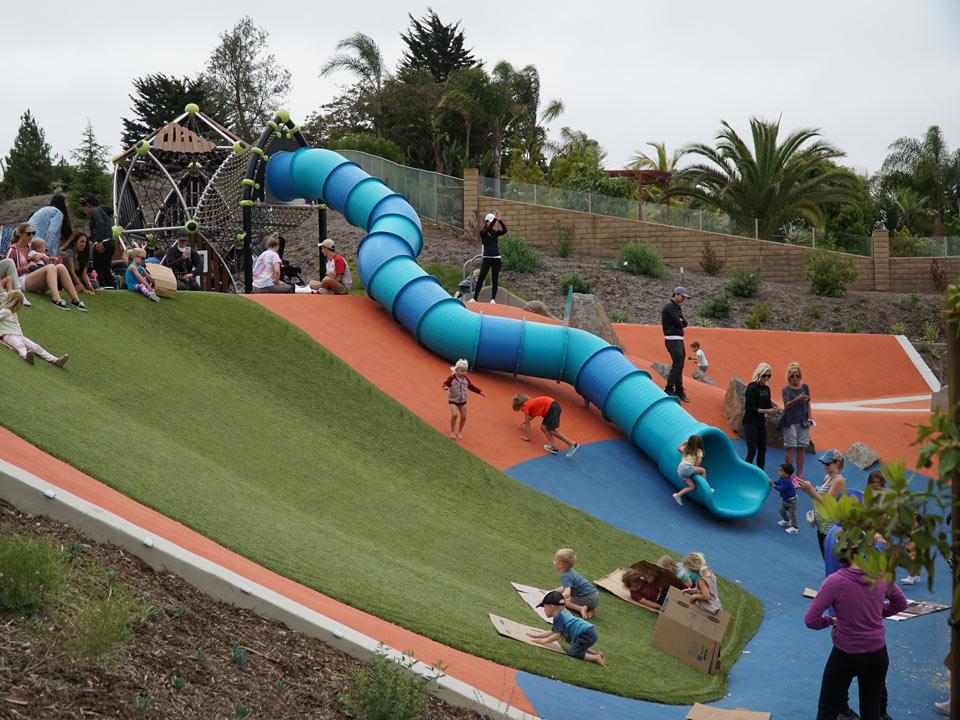 Olympus Park SpectraPour Supreme installation