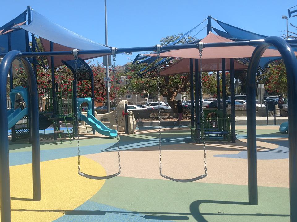 Del Rey Lagoon Park SpectraPour installation